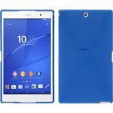 Silikon Hülle Xperia Z3 Tablet Compact X-Style blau