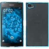 Silikon Hülle Xperia Z5 Compact Slim Fit blau