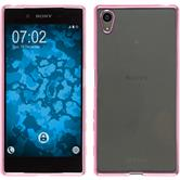 Silikon Hülle Xperia Z5 Slim Fit pink