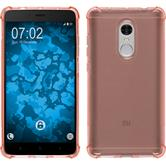 Silikon Hülle Redmi Note 4 (2016) ShockProof orange + 2 Schutzfolien
