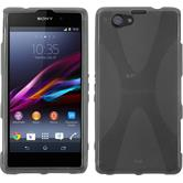 Silicone Case for Sony Xperia Z1 Compact X-Style gray