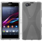 Silicone Case for Sony Xperia Z1 Compact X-Style transparent