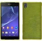 Silicone Case for Sony Xperia Z2 brushed pastel green