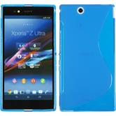 Silicone Case for Sony Xperia Z Ultra S-Style blue
