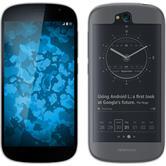 Silikon Hülle Yotaphone 2 transparent Crystal Clear