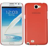 Hardcase for Samsung Galaxy Note 2  red