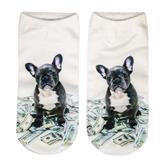 cosey  – 1 Paar Sneaker Socken – Galaxy Design – Einheits-Größe 33-40
