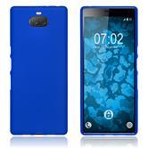 Silicone Case Xperia 10 Plus matt blue Cover