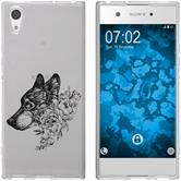 Sony Xperia XA1 Ultra Silicone Case floral M3-1