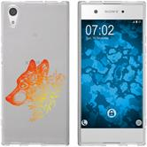 Sony Xperia XA1 Ultra Silicone Case floral M3-2