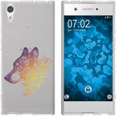 Sony Xperia XA1 Ultra Silicone Case floral M3-3
