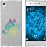 Sony Xperia XA1 Ultra Silicone Case floral M3-4
