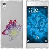 Sony Xperia XA1 Ultra Silicone Case floral M3-5