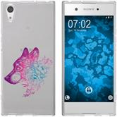 Sony Xperia XA1 Ultra Silicone Case floral M3-6
