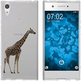 Sony Xperia XA1 Silicone Case vector animals M8