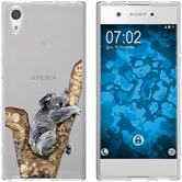 Sony Xperia XA1 Silicone Case vector animals M9