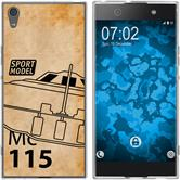 Sony Xperia XA1 Ultra Silikon-Hülle Space  M1
