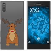 Sony Xperia XZ Silikon-Hülle X Mas Weihnachten  M3