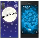 Sony Xperia XZ Silikon-Hülle X Mas Weihnachten  M4