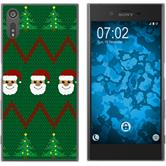 Sony Xperia XZs Silikon-Hülle X Mas Weihnachten  M7