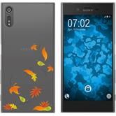 Sony Xperia XZs Silikon-Hülle Herbst  M1