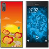 Sony Xperia XZs Silikon-Hülle Herbst  M2