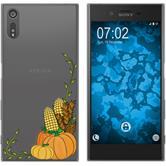 Sony Xperia XZs Silicone Case autumn M5