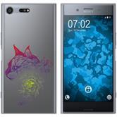 Sony Xperia XZ Premium Silikon-Hülle Floral  M2-5