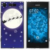 Sony Xperia XZ1 Silicone Case Christmas X Mas M4