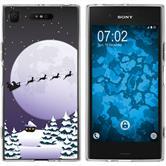 Sony Xperia XZ1 Silicone Case Christmas X Mas M5