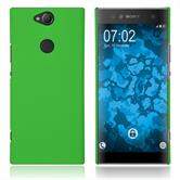 Hardcase Xperia XA2 Plus rubberized green Cover