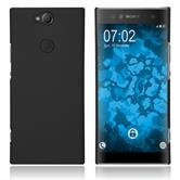 Hardcase Xperia XA2 Plus rubberized black Cover