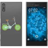 Sony Xperia XZ Silikon-Hülle Bike Motiv 1