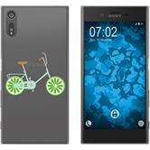 Sony Xperia XZ Silikon-Hülle Bike Motiv 2