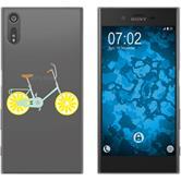 Sony Xperia XZ Silikon-Hülle Bike  M5
