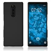 Hardcase Xperia 1 rubberized black Cover