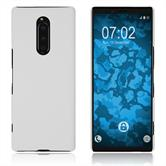Hardcase Xperia XZ4 rubberized white Cover