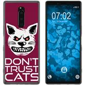 Sony Xperia 1 Silicone Case Crazy Animals M1