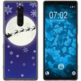 Sony Xperia 1 Silicone Case Christmas X Mas M4