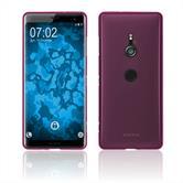 Silicone Case Xperia XZ3 matt hot pink Cover