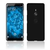 Silicone Case Xperia XZ3 matt black Cover