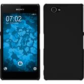 Hardcase for Sony Xperia Z1 Compact rubberized black