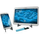 Universal Smartphone Ständer klappbar in Hellblau  Tablet/Smartphone Stand