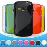 Silicone Case for Samsung Galaxy Mini 2 S-Style