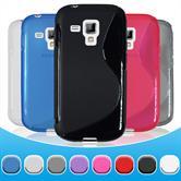 Schutzhülle für Samsung Galaxy S Duos Cover + Schutzfolien