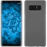 Silicone Case Galaxy Note 8 matt white + Flexible protective film