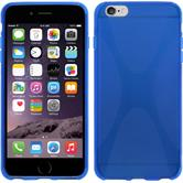 Silicone Case for Apple iPhone 6 Plus X-Style blue