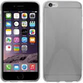 Silicone Case for Apple iPhone 6 Plus X-Style transparent