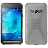 Silicone Case for Samsung Galaxy Xcover 3 X-Style transparent