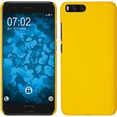 Hardcase Mi 6 rubberized yellow Case
